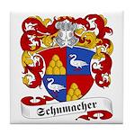 Schumacher Family Crest Tile Coaster