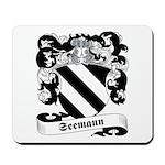 Seemann Family Crest Mousepad