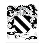 Seemann Family Crest Small Poster