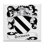 Seemann Family Crest Tile Coaster