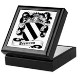 Seemann Family Crest Keepsake Box
