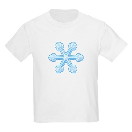 Flurry Snowflake IX Kids Light T-Shirt