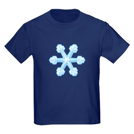 Flurry Snowflake IX Kids Dark T-Shirt