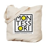 Cute Montessori Tote Bag