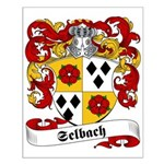 Selbach Family Crest Small Poster