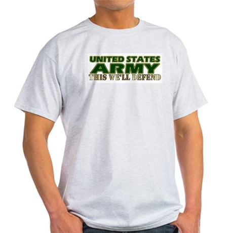 United States Army Ash Grey T-Shirt
