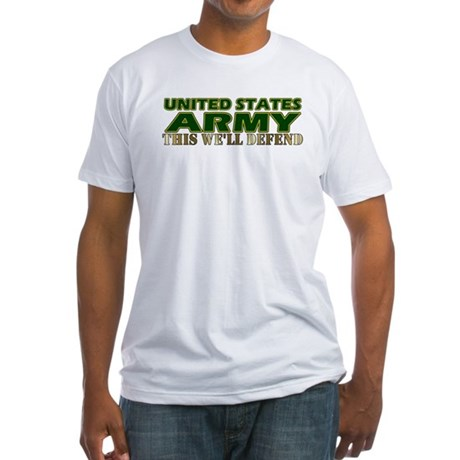 United States Army Fitted T-Shirt