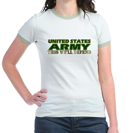 United States Army Jr. Ringer T-Shirt