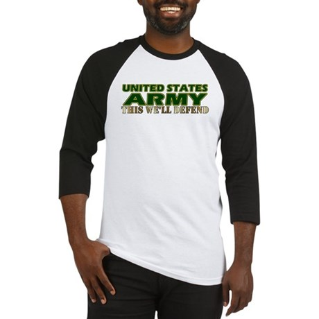 United States Army Baseball Jersey