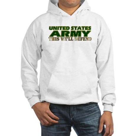 United States Army Hooded Sweatshirt