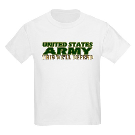 United States Army Kids T-Shirt