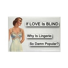 Love Is Blind Fridge Magnet