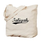 Vintage Taliyah (Black) Tote Bag