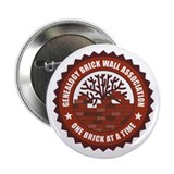 Brick Wall I 2.25&quot; Button