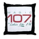 Smooth Magic 107 Throw Pillow