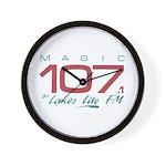 Smooth Magic 107 Wall Clock