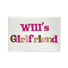 Will's Girlfriend Rectangle Magnet