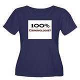 100 Percent Criminologist Women's Plus Size Scoop