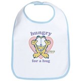 Hungry for a Hug Garfield Bib