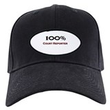 100 Percent Court Reporter Baseball Hat