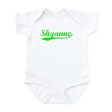 Vintage Shyanne (Green) Infant Bodysuit