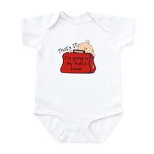 Aunts House Funny Infant Bodysuit