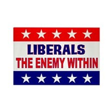 The Enemy Within Rectangle Magnet (10 pack)