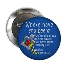 "Autism Awareness 2.25"" Button (100 pack)"