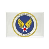 USAF USAAC Roundel Rectangle Magnet