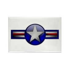 USAF Roundel Rectangle Magnet