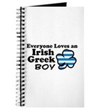 Irish Greek Boy Journal
