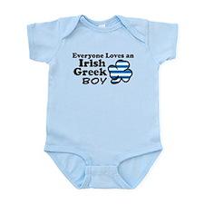 Irish Greek Boy Infant Bodysuit