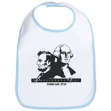 Presidents day Bib