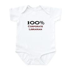 100 Percent Corporate Librarian Infant Bodysuit