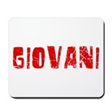 Giovani Faded (Red) Mousepad