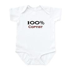 100 Percent Copyist Infant Bodysuit