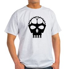 Chain Ring Skull T-Shirt