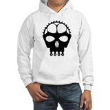 Chain Ring Skull Hoodie