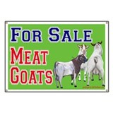 Meat Goats for Sale Advertising Banner