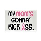 Gonna' Kick Ass 1 (Mom) Rectangle Magnet
