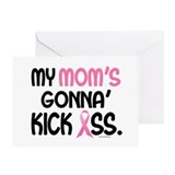 Gonna' Kick Ass 1 (Mom) Greeting Card