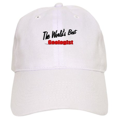 """The World's Best Geologist"" Cap"