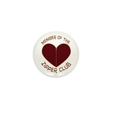 Zipper Club Mini Button (100 pack)