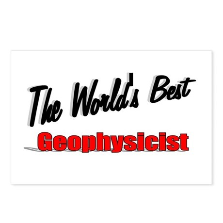 """The World's Best Geophysicist"" Postcards (Package"