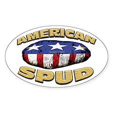 American Spud... Oval Decal