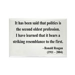 Ronald Reagan 8 Rectangle Magnet (10 pack)