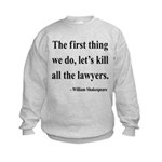 Shakespeare 14 Kids Sweatshirt