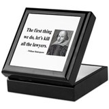 Shakespeare 14 Keepsake Box