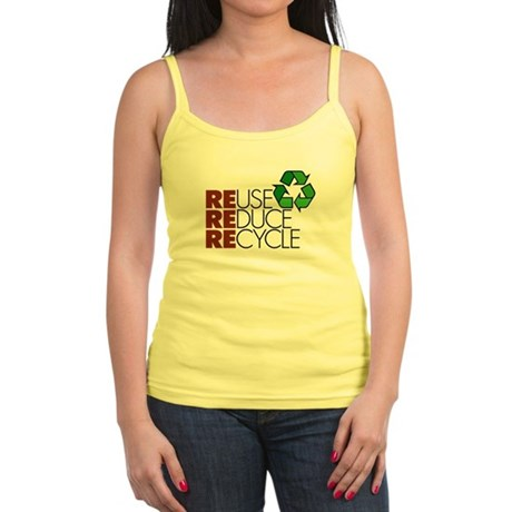 Reuse Reduce Recycle Jr. Spaghetti Tank