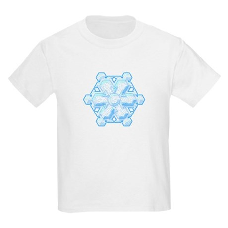 Flurry Snowflake VIII Kids Light T-Shirt